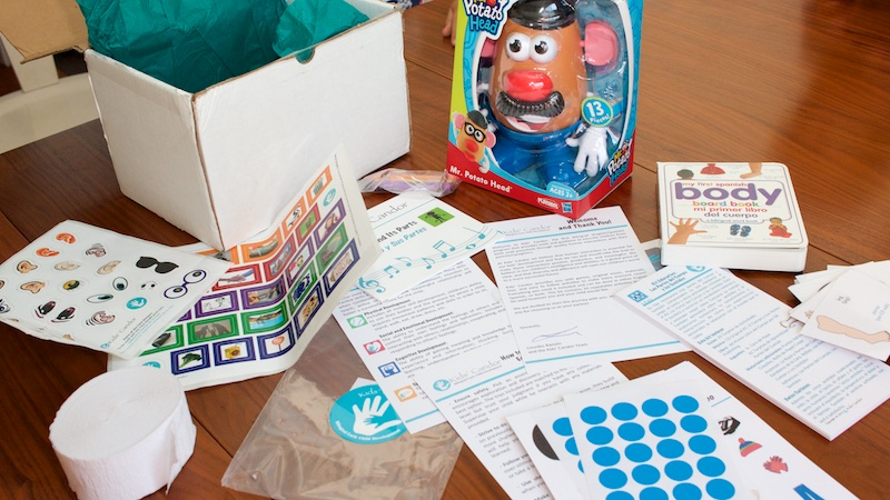 kids candor bilingual education kit contents