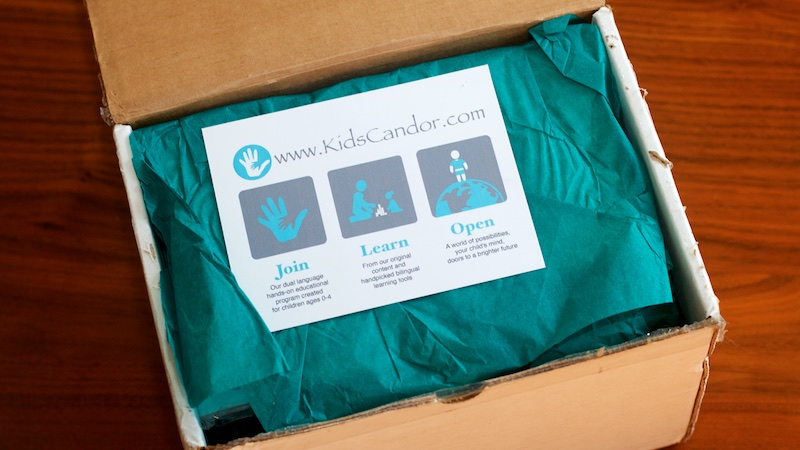 kids candor bilingual education kit
