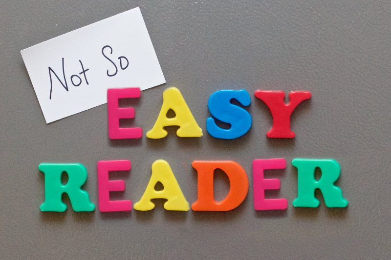 not-so-easy reader