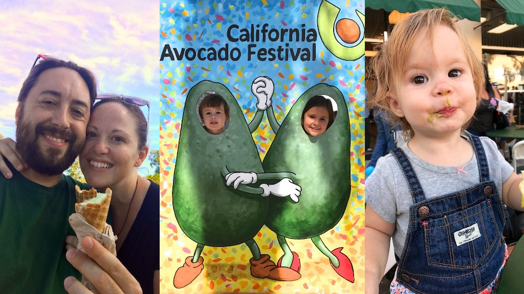 family traditions - avocado festival