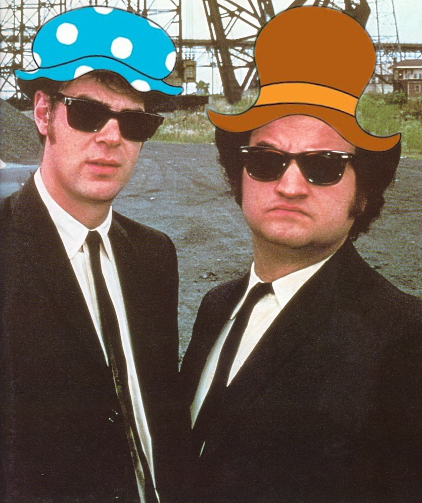 Berenstain Bears Blues Brothers