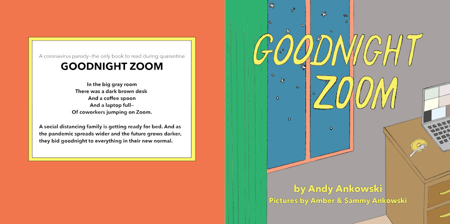 Goodnight Zoom front and back cover