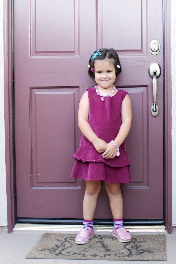 First day of school! (Take one.)