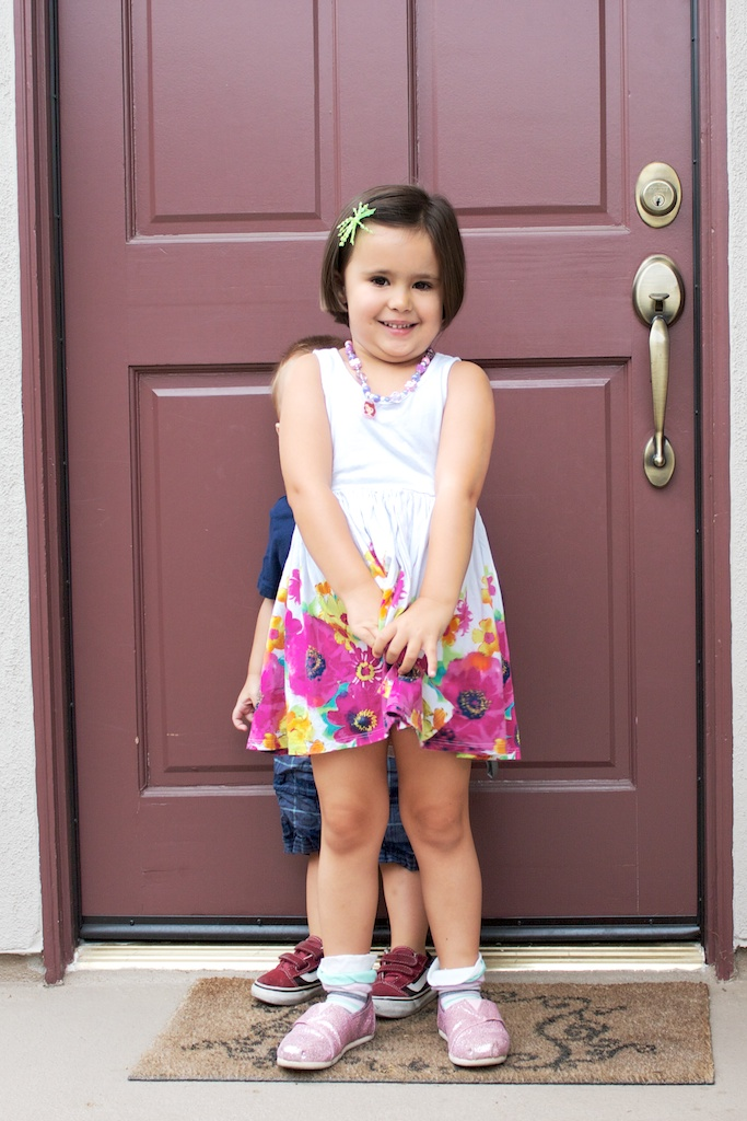 First day of school! (Take two – that's a wrap!)