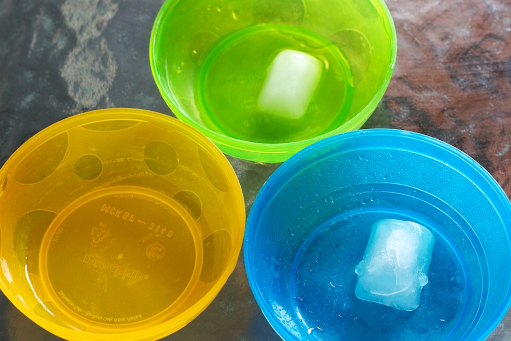 iceicebaby experiment cubes