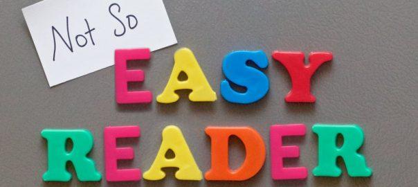 not-so-easy reader